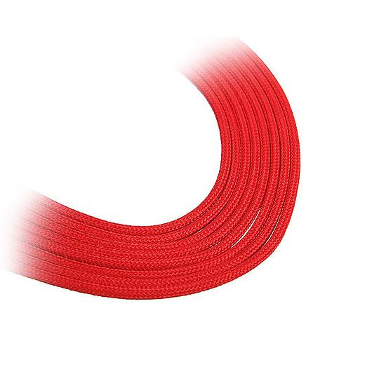 Alimentation BitFenix Alchemy Rallonge Rouge PCI-E 8 broches - Autre vue