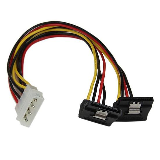Alimentation StarTech.com Câble d'alimentation en Y 2 SATA / Molex - 30 cm