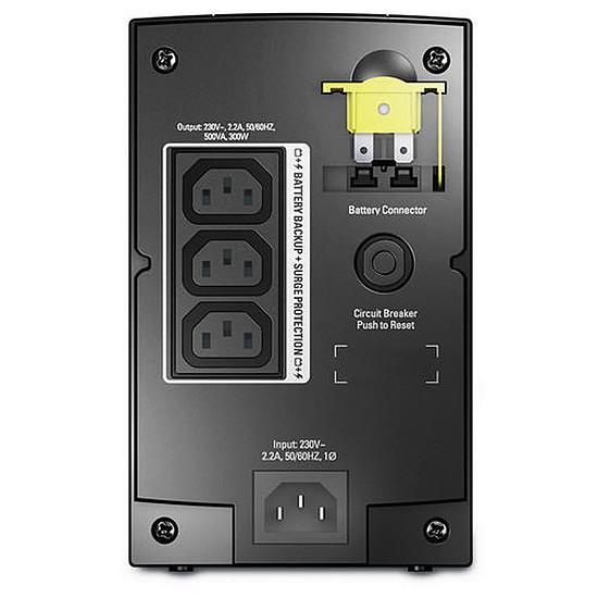 Onduleur APC Back-UPS 500 CI - Autre vue