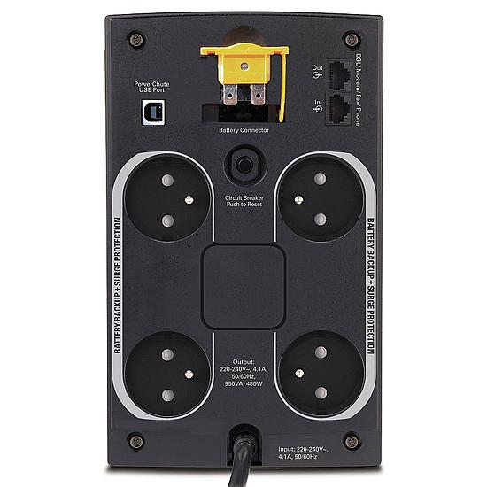 Onduleur APC Back-UPS BX 950VA - Prises FR - Autre vue