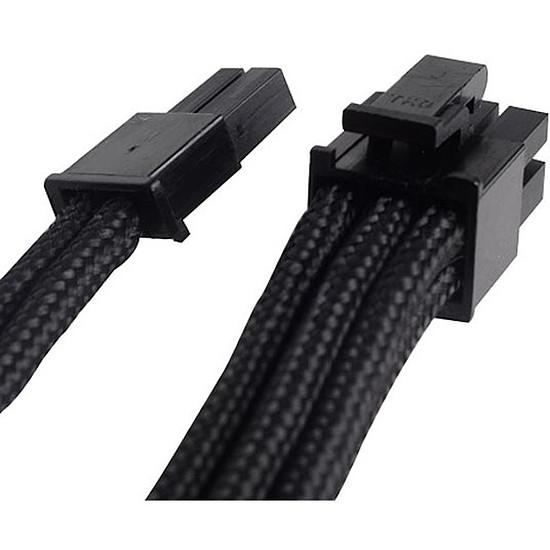 Alimentation Silverstone Rallonge PCI-E 6/8 broches 25 cm - Noir - Autre vue