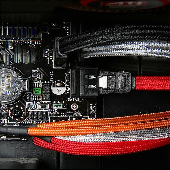 Alimentation BitFenix Alchemy Rallonge Rouge PCI-E 6 broches - Autre vue