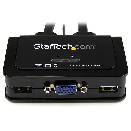 KVM StarTech.com Switch KVM USB VGA a 2 ports avec cables KVM - Autre vue