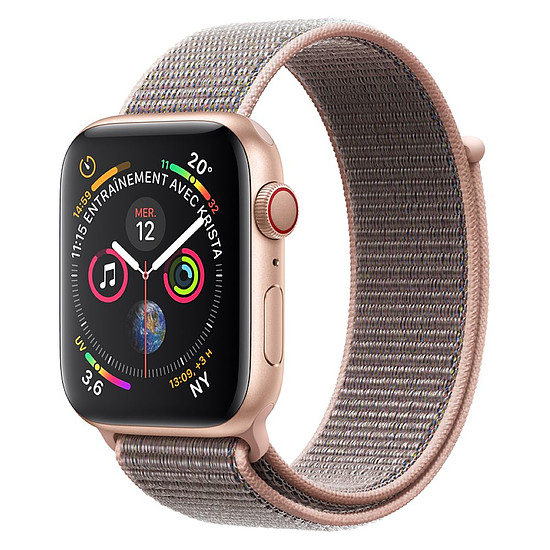 Montre connectée Apple Watch Series 4 (or -rose) - Cellular - 44 mm