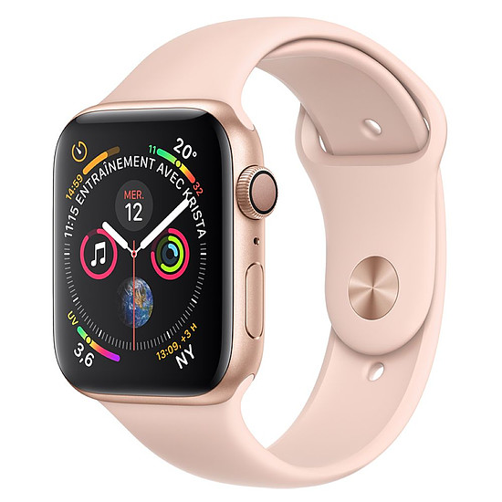 Montre connectée Apple Watch Series 4 (or - rose) - GPS - 44 mm