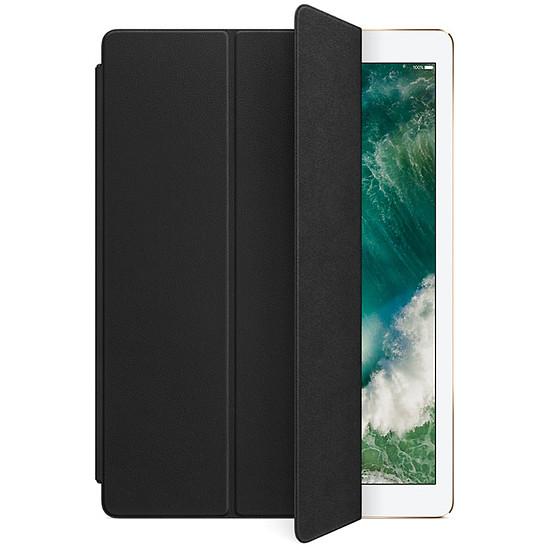 Accessoires tablette tactile Apple Smart cover cuir noir - iPad Pro 10,5