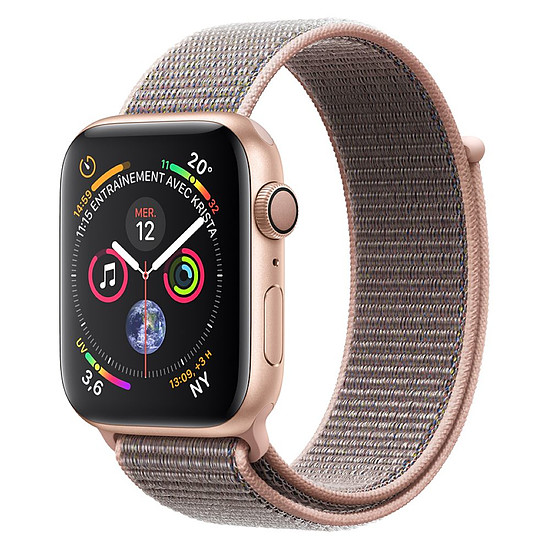 Montre connectée Apple Watch Series 4 (or - rose) - GPS - 40 mm