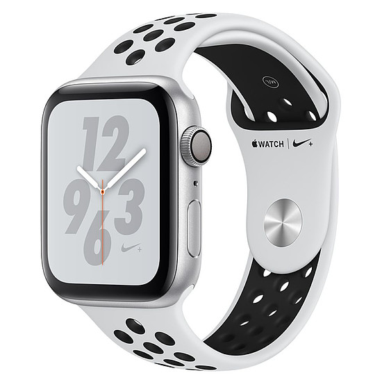 Montre connectée Apple Watch Series 4 Nike+ (argent - platine/noir) - GPS - 44 mm