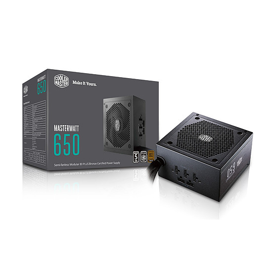 Alimentation PC Cooler Master MasterWatt 650