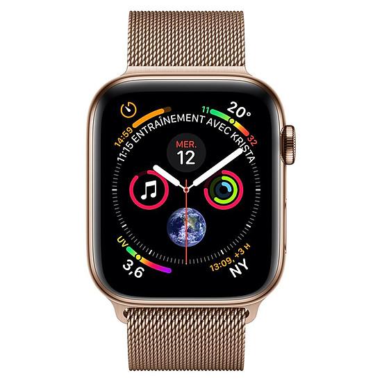 Montre connectée Apple Watch Series 4 (or- or) - Cellular - 44 mm - Autre vue