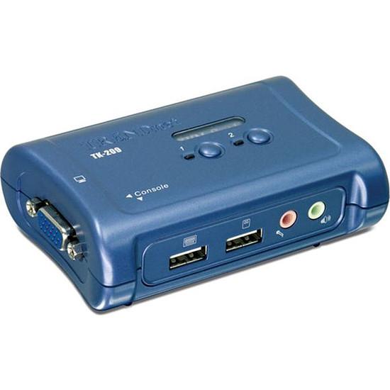 KVM TrendNet TK-209K - KVM 2 ports VGA/USB/Audio