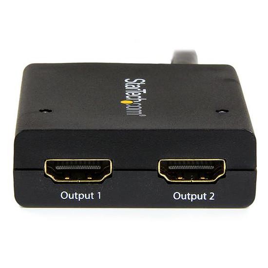 HDMI StarTech.com Splitter video HDMI 4K - 2 ports alimenté par USB - Autre vue
