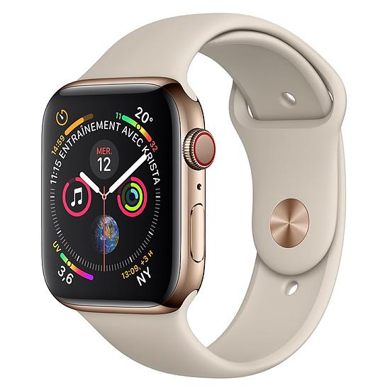 Montre connectée Apple Watch Series 4 (or - gris) - Cellular - 44 mm