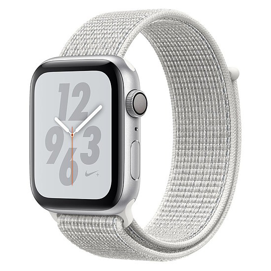 Montre connectée Apple Watch Series 4 Nike+ (argent - blanc) - GPS - 44 mm