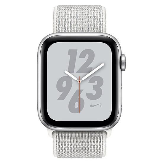 Montre connectée Apple Watch Series 4 Nike+ (argent - blanc) - GPS - 44 mm - Autre vue