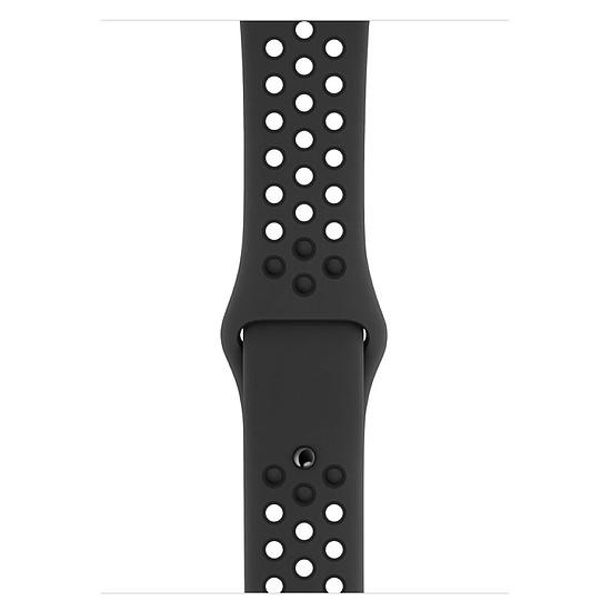 Montre connectée Apple Watch Series 4 Nike+ (gris sidéral - anthracite/noir) - GPS - 44 mm - Autre vue