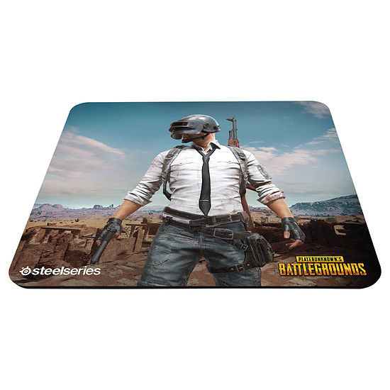 Tapis de souris SteelSeries QcK+ - PUBG Miramar Edition