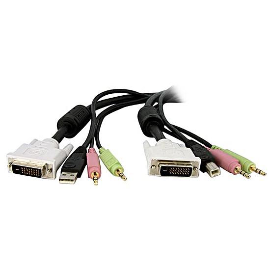 KVM StarTech.com Câble de commutateur KVM DVI-D Dual Link USB
