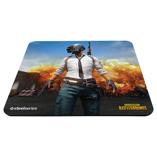 Tapis de souris SteelSeries QcK+ - PUBG Erangel Edition