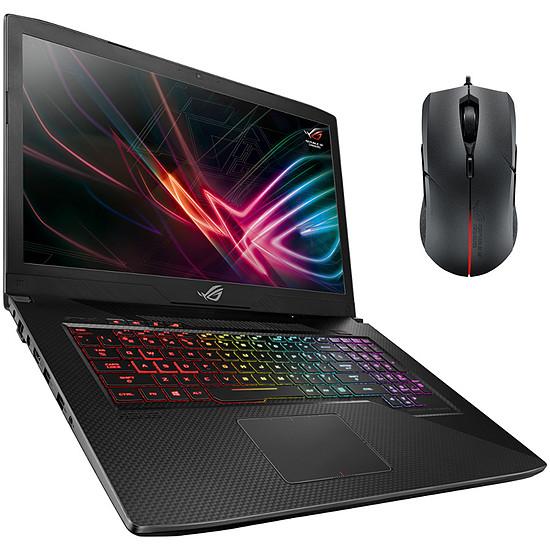 PC portable Pack Asus ROG SCAR GL703GM-EE044T + Souris ROG Strix Evolve offerte