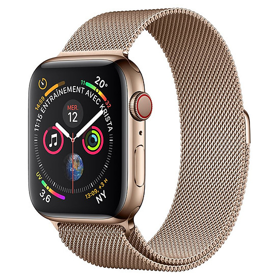 Montre connectée Apple Watch Series 4 (or - or) - Cellular - 40 mm