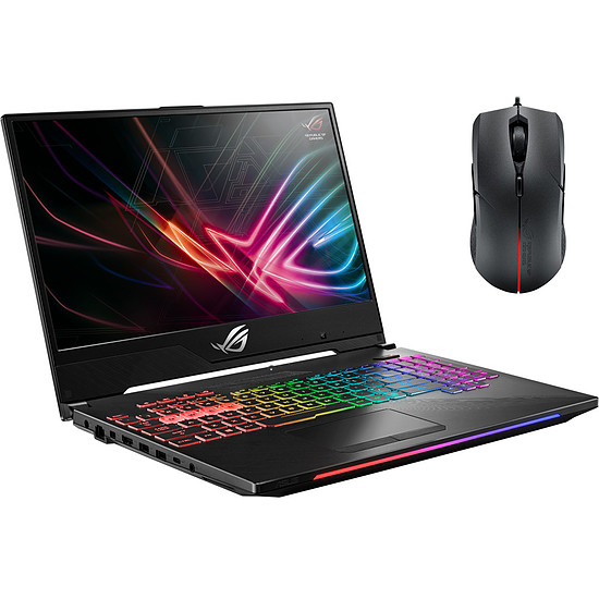 PC portable Pack Asus ROG HERO GL504GM-ES204T + Souris ROG Strix Evolve offerte