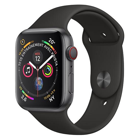 Montre connectée Apple Watch Series 4 (gris sidéral - noir) - Cellular - 44 mm