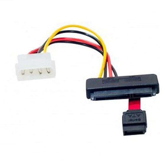 Alimentation Câble Molex / SATA (données et alimentation) 20 cm