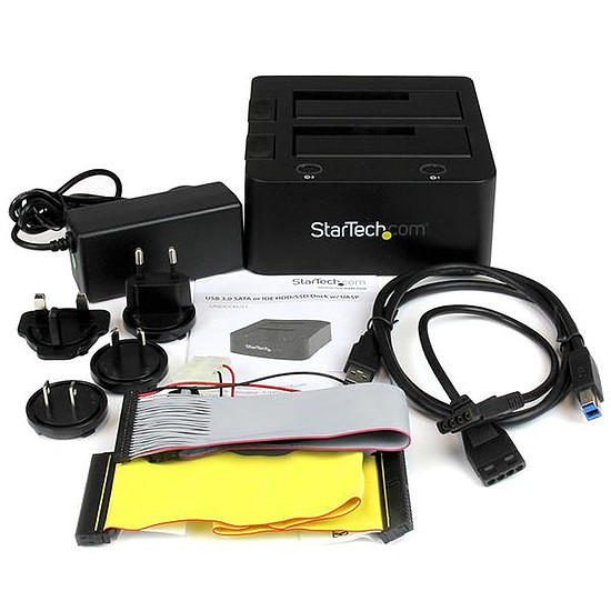 Dock pour disque dur StarTech.com Station d'accueil USB 3.0 pour IDE/SATA - Autre vue