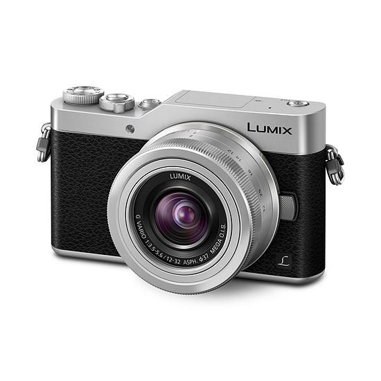 Appareil photo hybride Panasonic Lumix GX800 Silver + 12-32 mm  - Autre vue