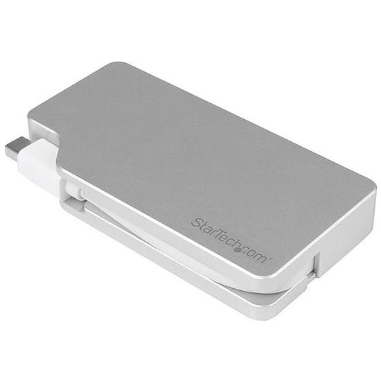VGA StarTech.com Adaptateur 3en1 Mini DisplayPort vers VGA/DVI/HDMI