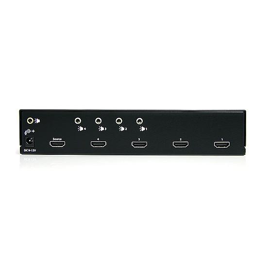 HDMI StarTech.com Répartiteur HDMI ST124HDMI2 - 4 ports - Autre vue