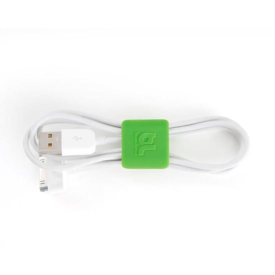 Passe câble et serre câble Bluelounge CableClip Small - Pack x6