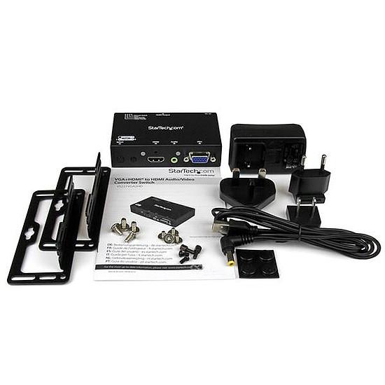 HDMI StarTech.com Switch et convertisseur HDMI vers VGA - Autre vue