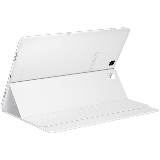 Accessoires tablette tactile Samsung Étui Book Cover - Galaxy Tab A  - Blanc