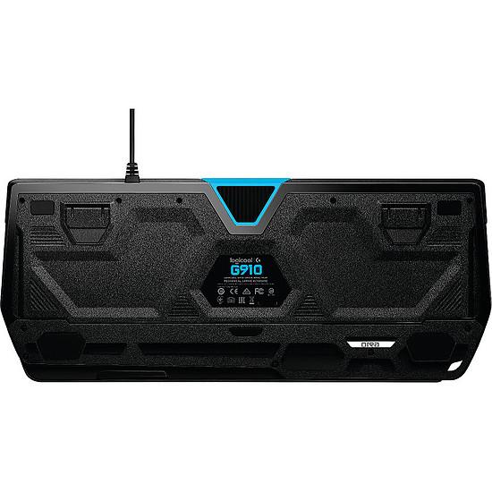 Clavier PC Logitech G910 Orion Spectrum - Romer-G Tactile - Autre vue