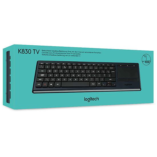 Clavier PC Logitech K830 Living-Room - Autre vue