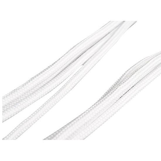 Alimentation Silverstone Rallonge PCI-E 6 broches 25 cm - Blanc - Autre vue