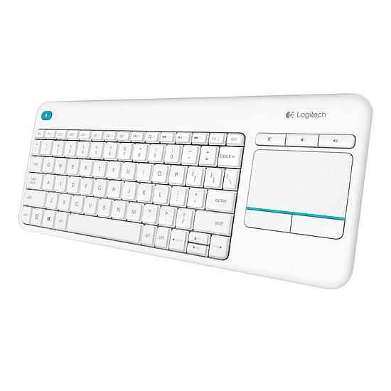 Clavier PC Logitech K400 Plus - Blanc - Autre vue