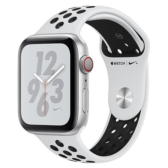 Montre connectée Apple Watch Series 4 Nike+ (argent - platine/noir) - Cellular - 44 mm