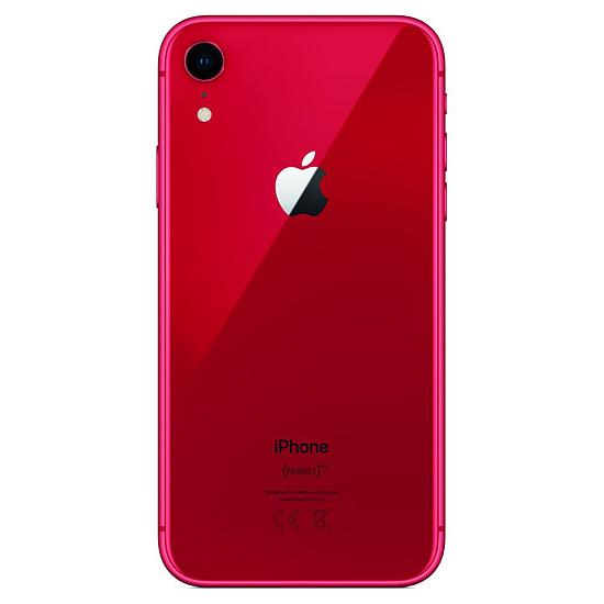 Smartphone et téléphone mobile Apple iPhone XR (rouge) - 64 Go -  PRODUCT(RED) - Autre vue