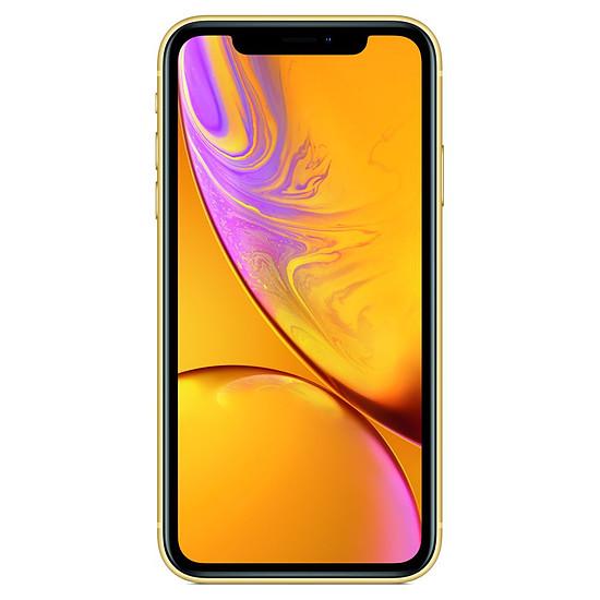 Smartphone et téléphone mobile Apple iPhone XR (jaune) - 256 Go