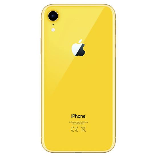 Smartphone et téléphone mobile Apple iPhone XR (jaune) - 256 Go - Autre vue