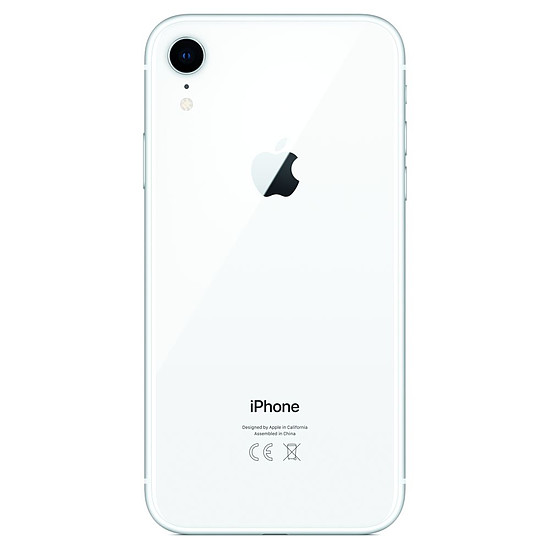 Smartphone et téléphone mobile Apple iPhone XR (blanc) - 128 Go - Autre vue