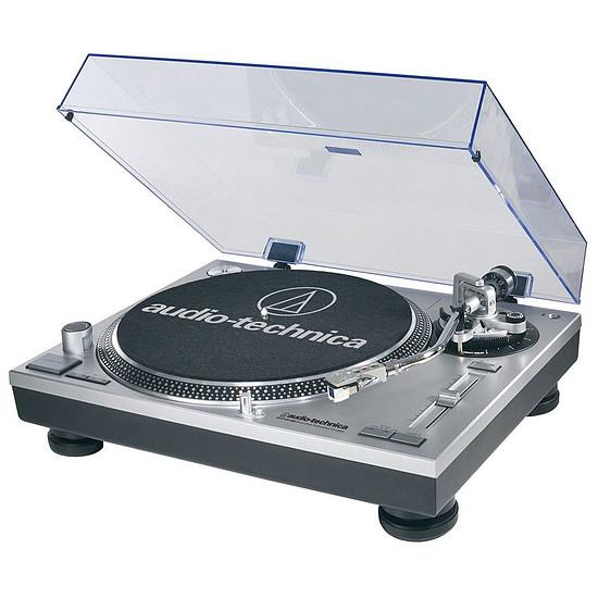 Audio-Technica Platine disque vinyle AT-LP120 USB Silver