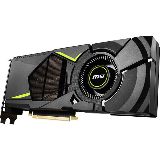 Carte graphique MSI GeForce RTX 2070 AERO - 8 Go - Autre vue