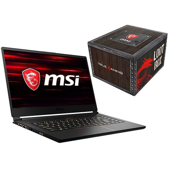 MSI GS65 Stealth Thin 8RE-222FR + Loot Box Accessoires offerte
