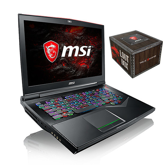 MSI GT75 Titan 8RG-095FR + Loot Box Accessoires offerte