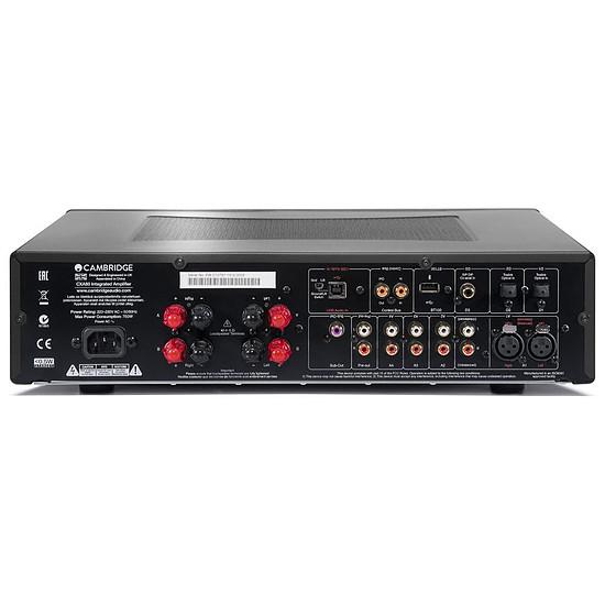 Ampli HiFi Stéréo Cambridge Ampli Hi-Fi CX A 80 Noir - Autre vue