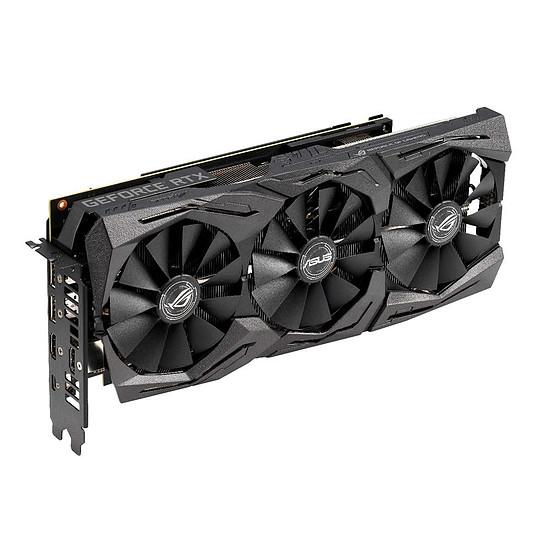 Carte graphique Asus GeForce RTX 2070 ROG STRIX OC - 8 Go GDDR6 - Autre vue